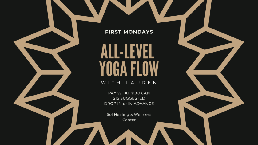 Event Cover - all-level yoga flow